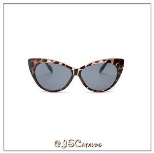 Trendy Cat Eyes Leopard Sunglasses Anti-UV